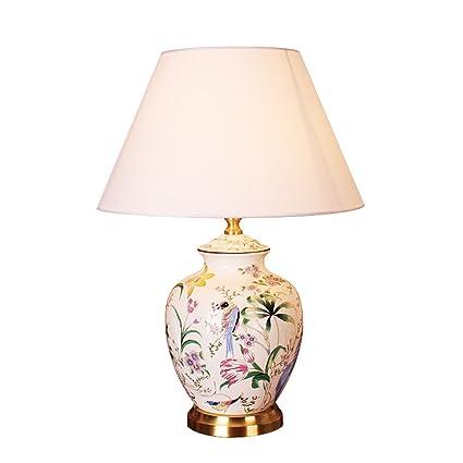 Lámpara de Mesa Lámpara de cabecera de cerámica- 50cm Sala ...