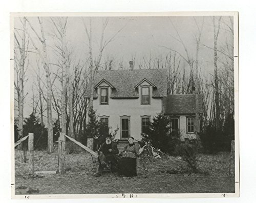 Early 1900s Photo (Nebraska History - Solomon Butcher Vintage 8x10 Publication Photo - Early)