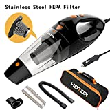 [4th Gen] HOTOR Car Vacuum, DC 12V Car Vacuum Cleaner High Power with...