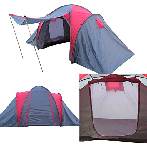 Amaze Outdoor Light Weight Portable Water Proof Picnic Trekking Family Camping Tent Shelter – Two Rooms