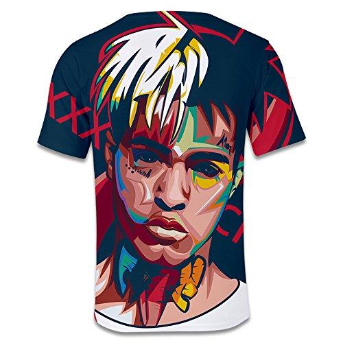 Maglietta Stampa 2018 Shirt T 01 Uomo Xxs Xxxtentacion Ctooo 3d xxxl twZOqxt