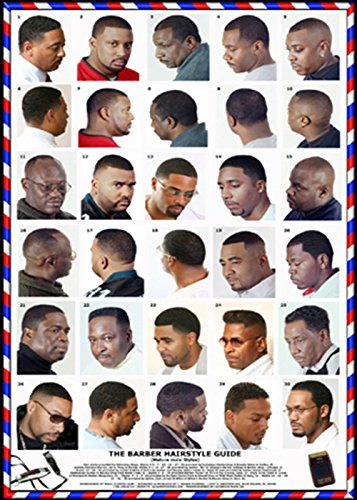 black barbershop posters
