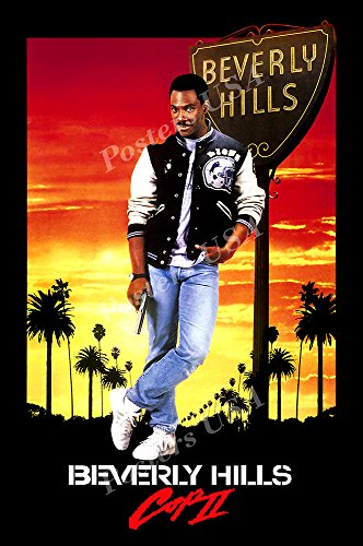 Posters USA - Beverly HIlls Cop II Movie Poster GLOSSY FINISH - FIL056 (16