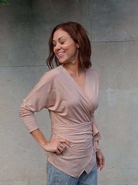 /Lea knit Wickelkleid Sizes 18-30 Stil Arc Schnittmuster/
