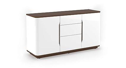 Vivan Interio Wooden Baltoro Sideboard Glossy Finish White