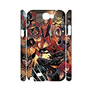 JJZU(R) Design Personalized 3D Phone Case with Marvel Comics for Samsung Galaxy Note 2 N7100 - JJZU914427