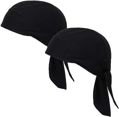 Grey VIccoo Cycling Bandana Unisex Cycling Bandana Quick Dry Beanie Skull Cap Camouflage Solid Pirate Hat