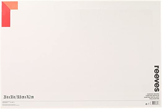 Reeves Artist Stretched Canvas Square