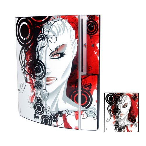 PS3 Playstation 3 Body Protector Skin Decal Sticker, Item No.PS30853-13