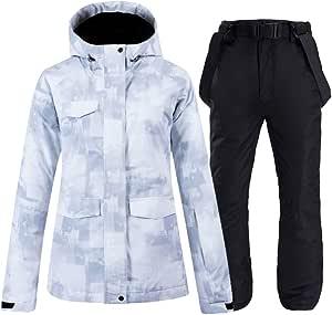 WYPG Trajes De Esquí Chaquetas Y Pantalones De Mujer ...