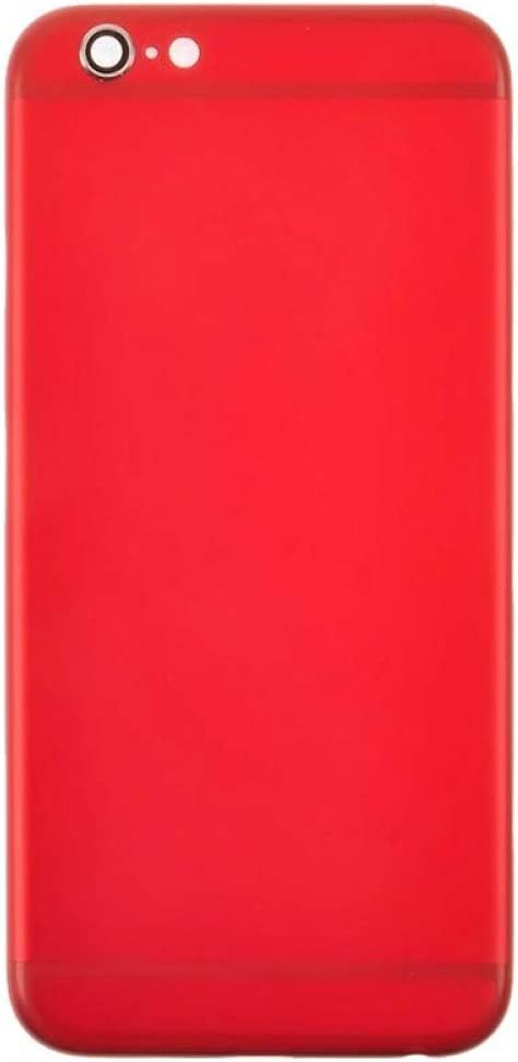 with Glue Card Door for Apple iPhone 6 Red CDMA /& GSM