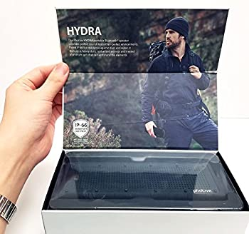Photive Hydra Portable Bluetooth Speaker With Enhanced Bass. Waterproof Rugged Portable Speaker For Home, Travel & Outdoors 5