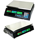 88lbs/40kg Digital Deli Scale | Food Meat Price Computing Digital Weight Scale New