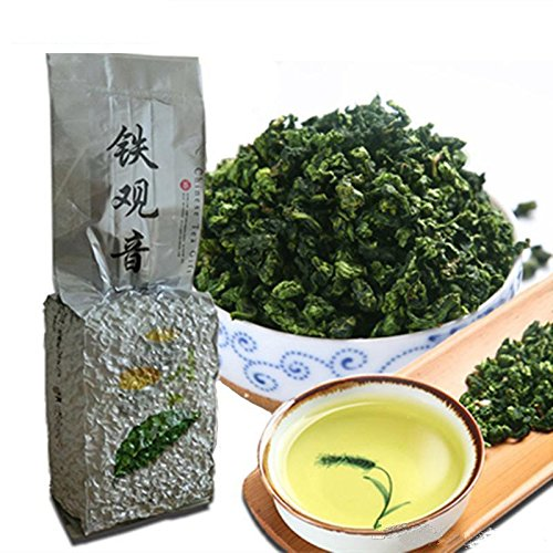 Té de Oolong 250g (0.55LB) Té de Tieguanyin la China, naturalmente, cuidado de la salud orgánico té verde guan yin tea Green Food