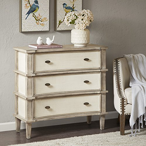 Madison Park Alcott 3 drawer chest Natural/Cream See - Drawer 3 Madison