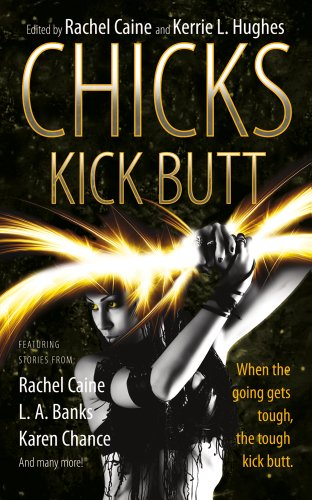 book cover of Chicks Kick Butt