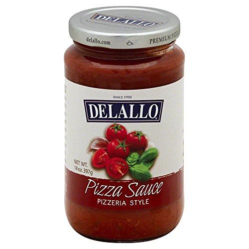 DeLallo Pizza Sauce, Italian Style 14.0 OZ(Pack of 1)