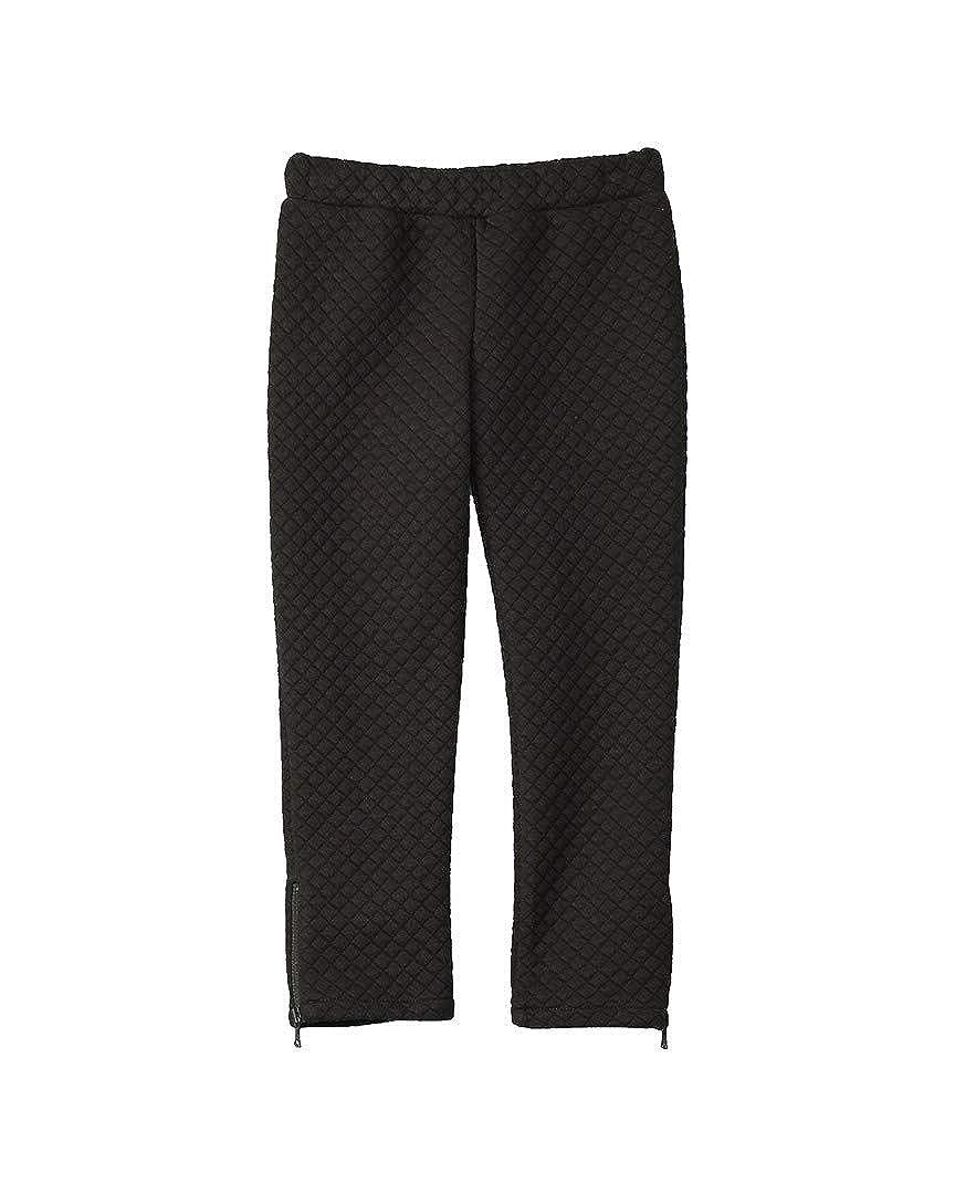 2 MILLY Girls Minis Zipper Ponti Legging Black