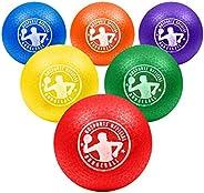 GoSports Inflatable Dodgeball - No Sting Balls - Includes Ball Pump & Mesh