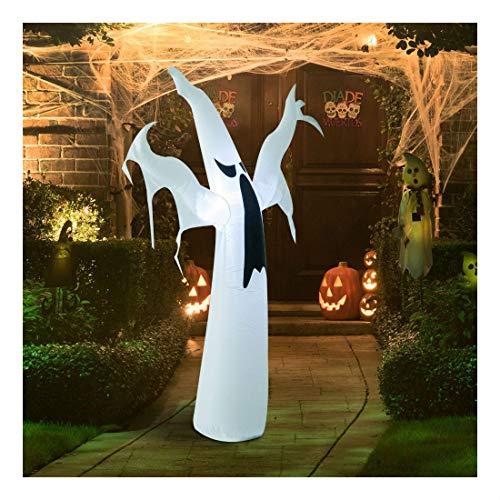 (9' Halloween Inflatable Black Cat Archway Door Airblown Outdoor Yard Decorations)