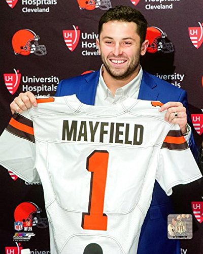 Baker Mayfield Cleveland Browns NFL Draft Photo (Size: 8