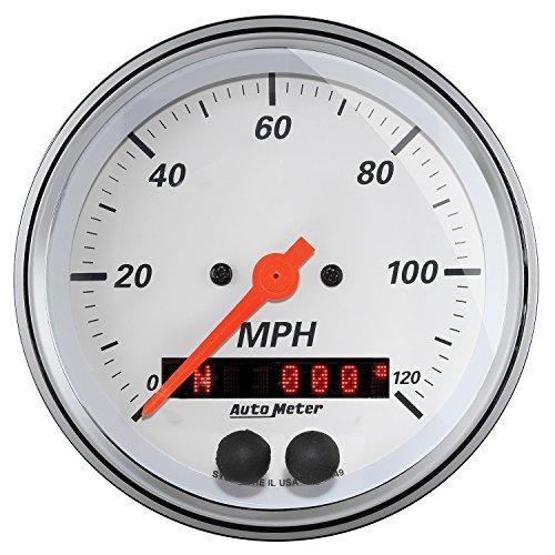 Auto Meter (1349) Arctic White 3-3/8