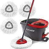 O-Cedar Easywring Microfiber Spin Mop & Bucket