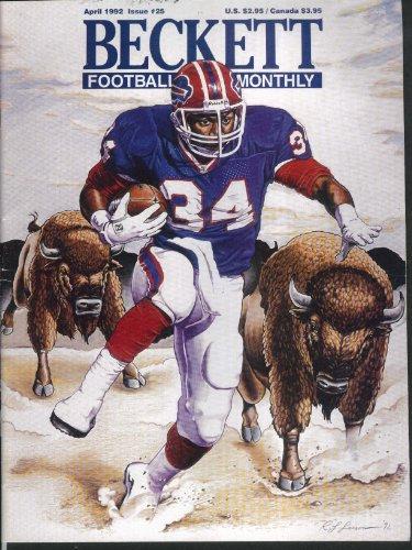 BECKETT FOOTBALL CARD MONTHLY John Elway Darrell Green Randall Cunningham 4 1992
