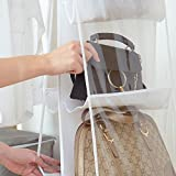 6 Pocket Handbag Anti-dust Cover Clear Hanging