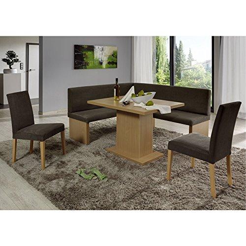 Eckbank Eckbankgruppe Essgruppe CHARLSON Essecke Bank Tisch 2 Stühle Buche