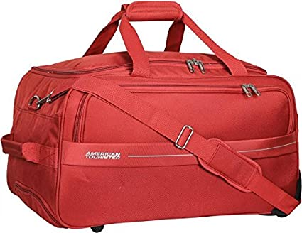 American Tourister Marco Polyester 64 cms Rust Travel Duffle (93O (0) 12  002)  Amazon.in  Bags e6d2c47dcb7fd
