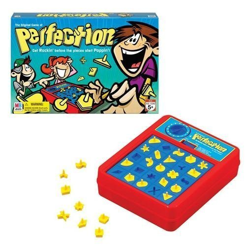 032244040603 - Hasbro Perfection Board Game 25 pieces carousel main 1