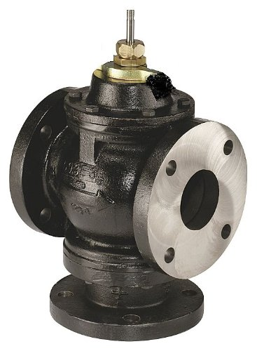 Johnson Controls VG2831UM VG2000 Series Three-Way Mixing Flanged Globe Valve Body with MP84 Series Pneumatic Spring…