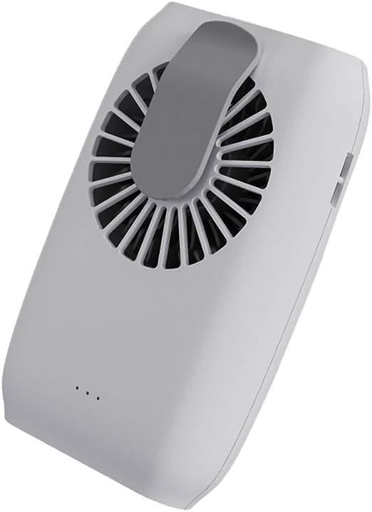 Amiispe Mini Ventilador Recargable portátil Ventilador de Collar ...