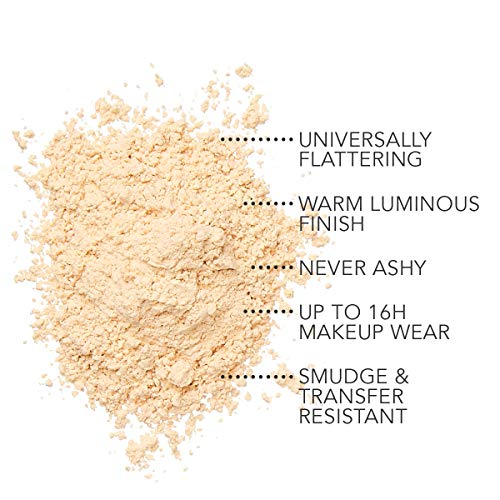 Dermablend Illuminating Banana Powder, Loose Setting Powder Makeup for Brightening and a Long-Lasting Luminous Finish, up to 16hr Wear, 0.63 oz.