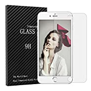 iPhone 6S Plus Screen Protector, YOKIRIN Scratch Terminator Ultra Thin HD Tempered Glass Screen Protector for iPhone 6S Plus iPhone 6 Plus (5.5 inch)