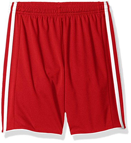 - Adidas Youth Soccer Tastigo Shorts, Power Red/White - X-Large