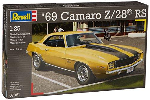 Ford V8 Motors (Revell 1:25 Scale 1969 Camaro Z-28 RS)