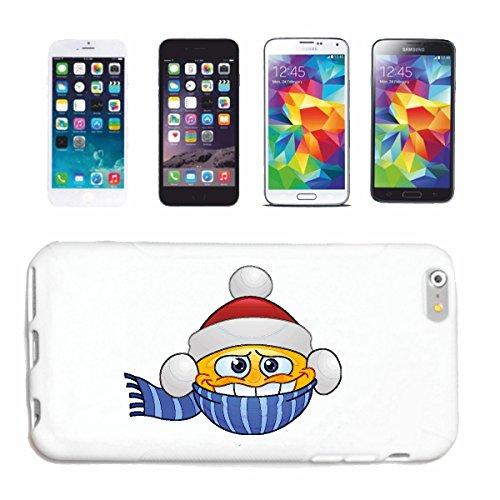 """cas de téléphone iPhone 7S """"FRIER ENDER SMILEY avec chapeau et FOULARD """"sourire EMOTICON APP de SMILEYS SMILIES ANDROID IPHONE EMOTICONS IOS"""" Hard Case Cover Téléphone Covers Smart Cover pour Apple iP"""