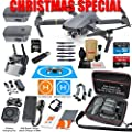 DJI Mavic PRO Drone Quadcopter Elite Combo with 3 Batteries, 4K Professional Camera Gimbal Bundle Kit with 80W Rapid Charger, Charging Hub, Carrying Case and MUST HAVE Accessories from DJI