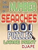 The Book of Number Searches: 1001 Puzzles Large Print