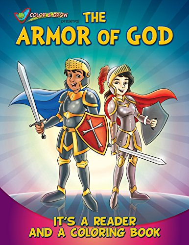Coloring Book:Color and Grow Presents The Armor of