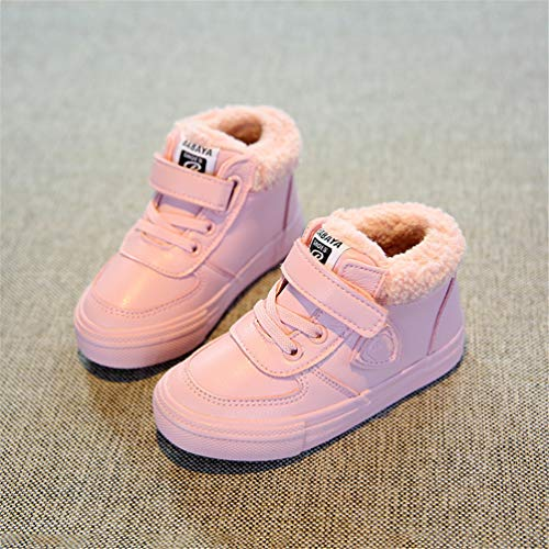 Padded Shoes Modell Girl Feidaeu Schnee Erhöhen Cotton Pink vmnwN80