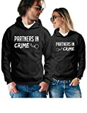 Best  - Partners in Crime Matching Couple Hoodies - Pullover Review