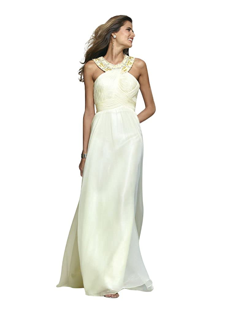 Amazon.com: Grecian Style Long Evening, Formal, Prom and Graduation ...