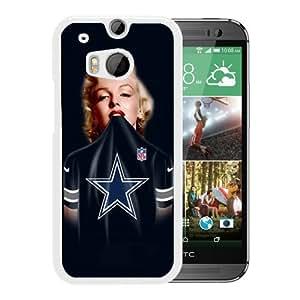Hot Sale HTC ONE M8 Case ,Dallas Cowboys 38 White HTC ONE M8 Cover Case Unique Popular Designed Phone Case