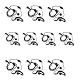 BestFace® Newest 10 Pack Earpiece Headset Mic for Baofeng UV 5R/5RA/5RA+/5RB/5RC/5RD/5RE/5RE+ 666s 777s 888s Two-way Radio