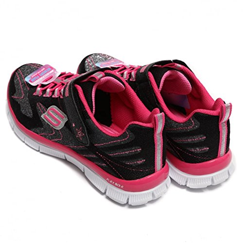 Sketchers Kids Skech Appeal Hi Shine Black / Pink