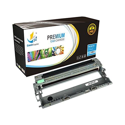 Catch Supplies DR210CL DR-210CL Cyan Premium Replacement Drum Unit Compatible with DR-210 Brother HL-3070CW 3045CN 3075CW, MFC-9010CN 9120CW 9320CW 9125CN 9325CW, DCP-9010CN Printers |15,000 (Cyan Drum Unit Cartridge)