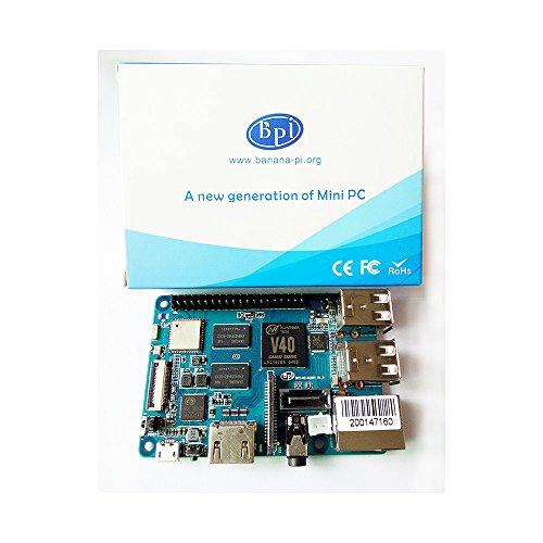 Banana Pi BPI M2 Berry Dual core Mali 400 MP2 GPU 1G LPDDR3 Open-source Development Board , Same Size as Raspberry Pi 3 by SmartFly Info (Image #6)